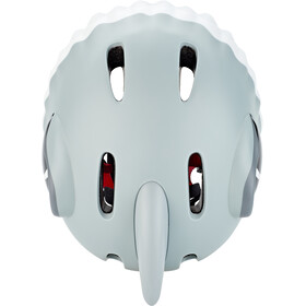 Crazy Safety Shark Helm Kinder grau